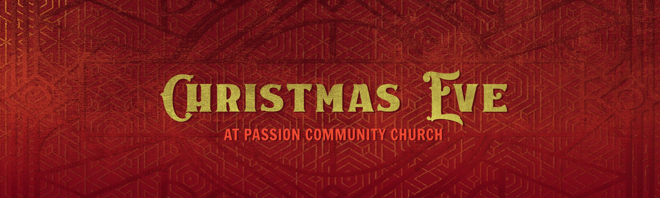 Christmas Eve at Passion Community Church