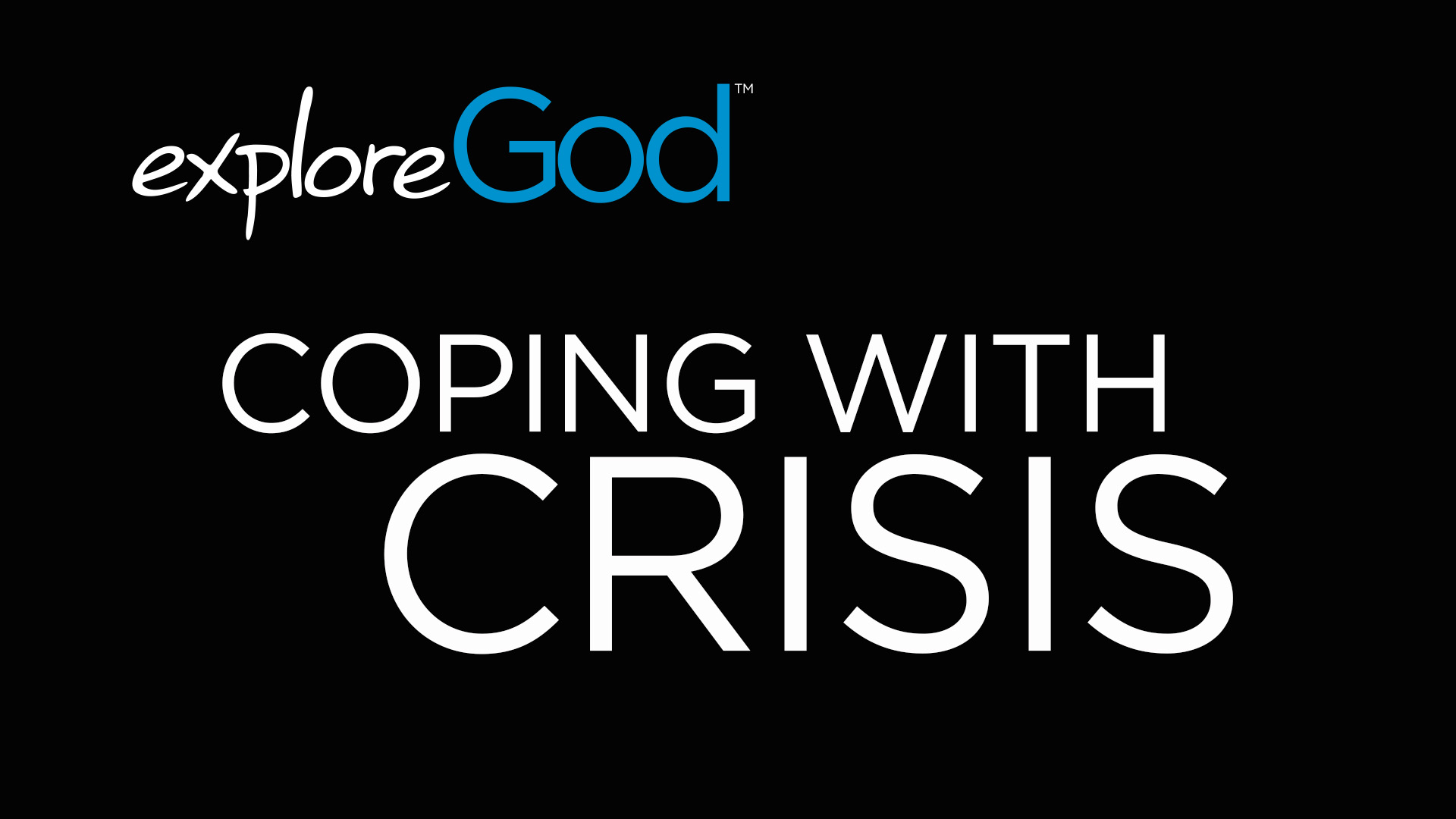 Explore God Image for depression page