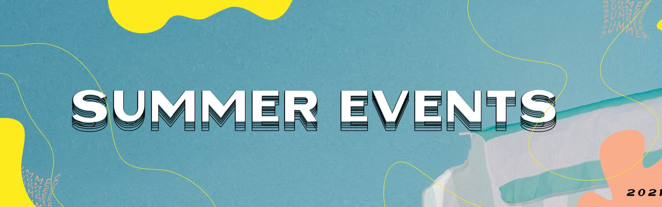 summer events website feature