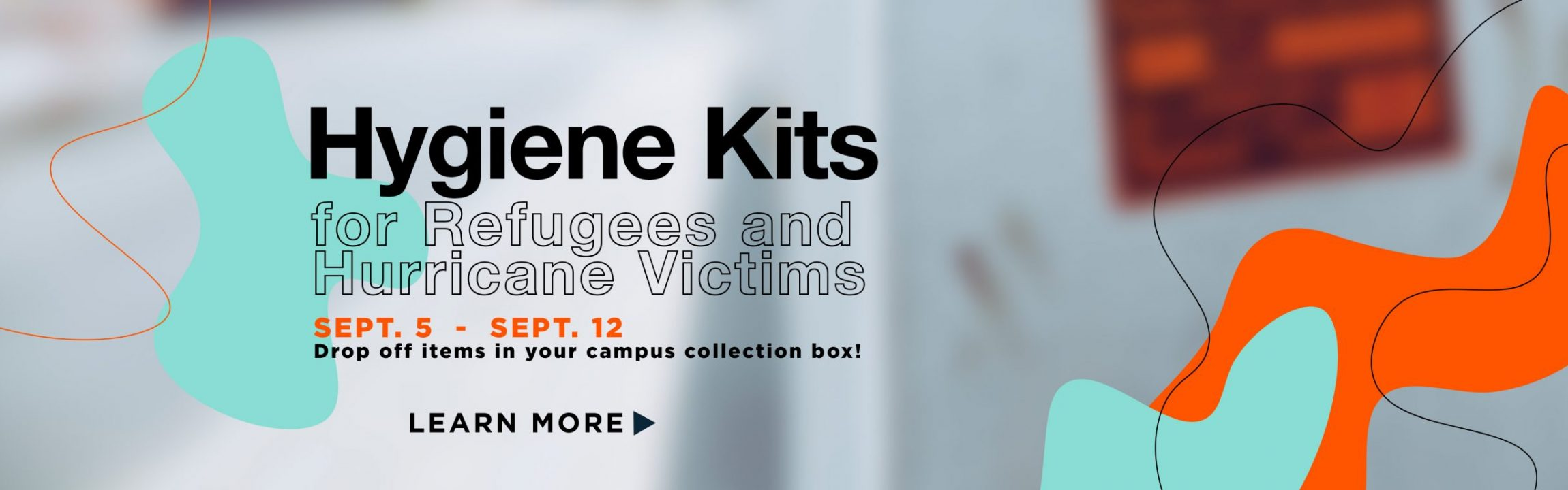 hygiene kits hurricane and refugees - feature